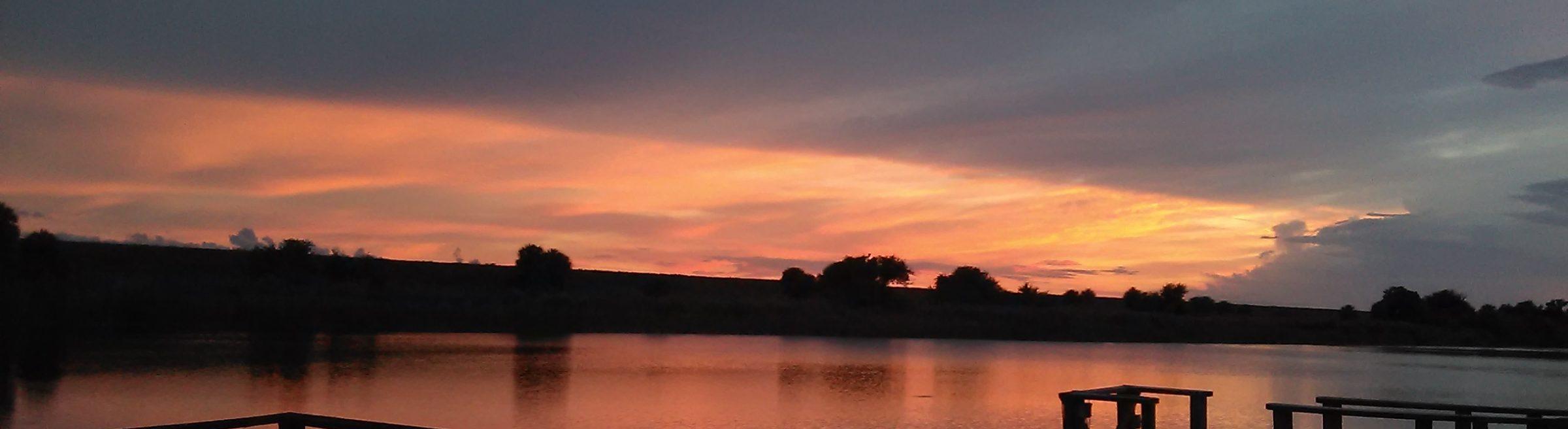 God's Gracious Sunset